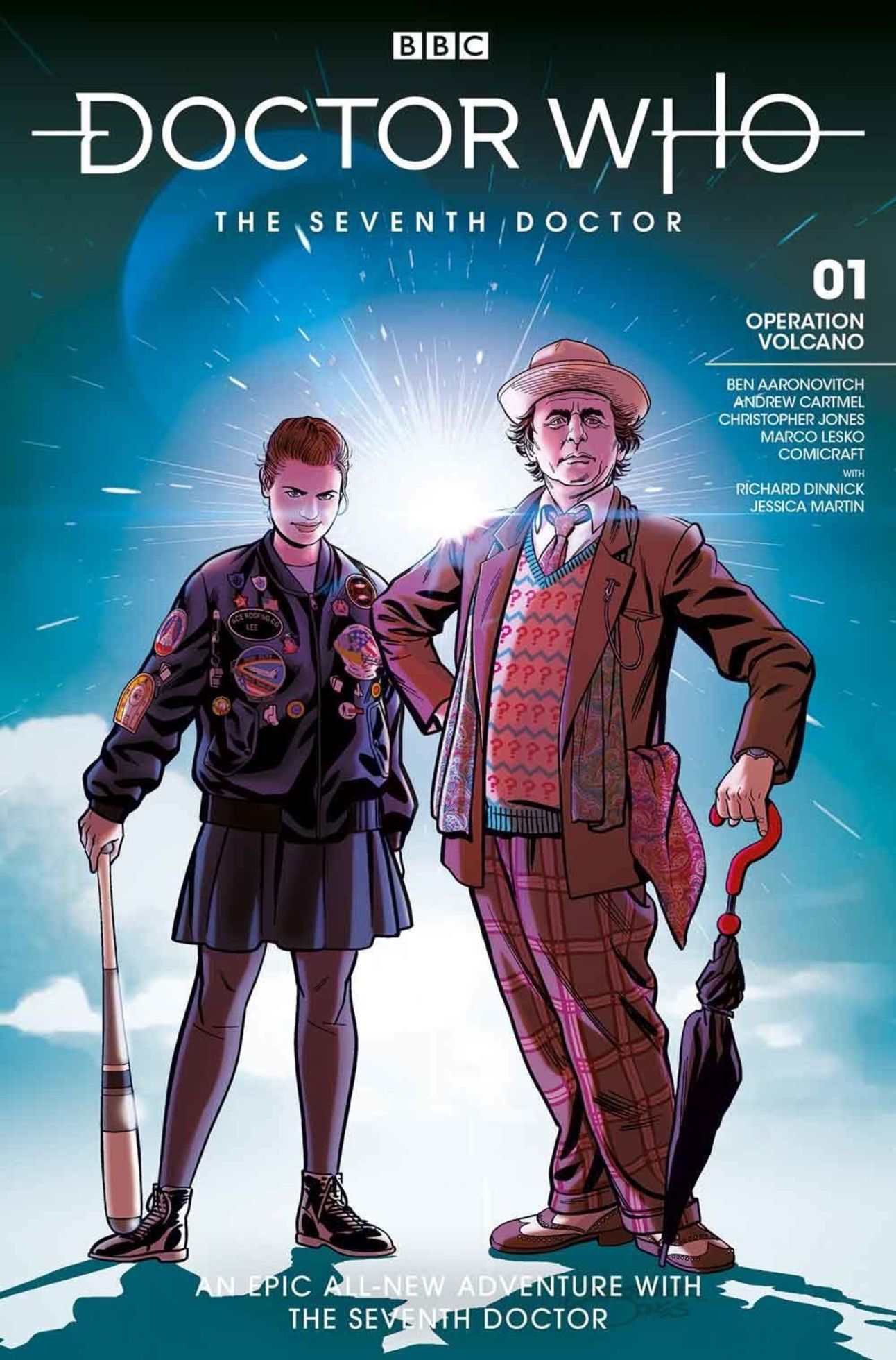 Doctor Who The Seventh Doctor 1 cover by Christopher Jones