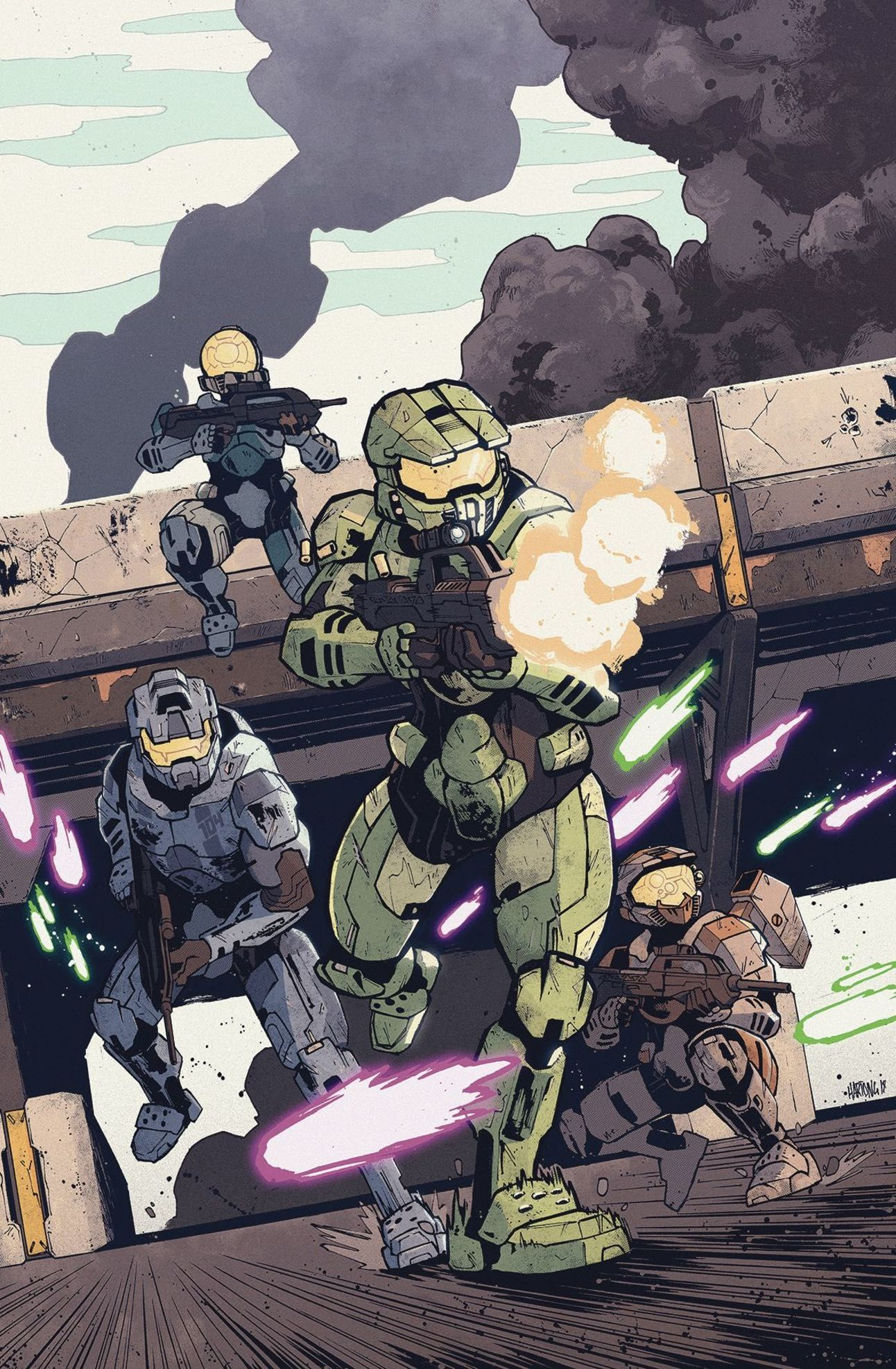 Halo Collateral Damge 1 by Zak Hartong
