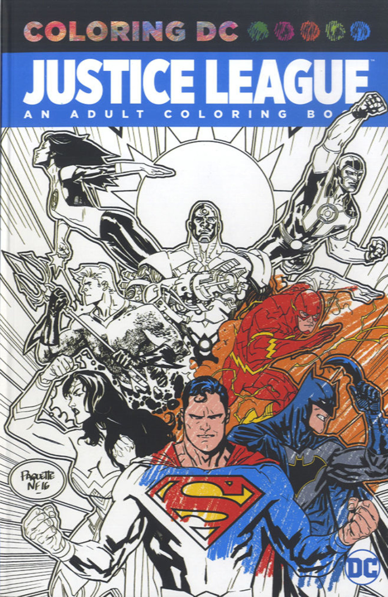 Justice League Coloring Book