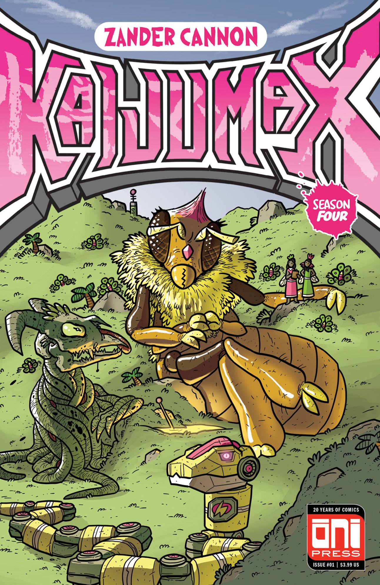 New Comics June 13 Oni