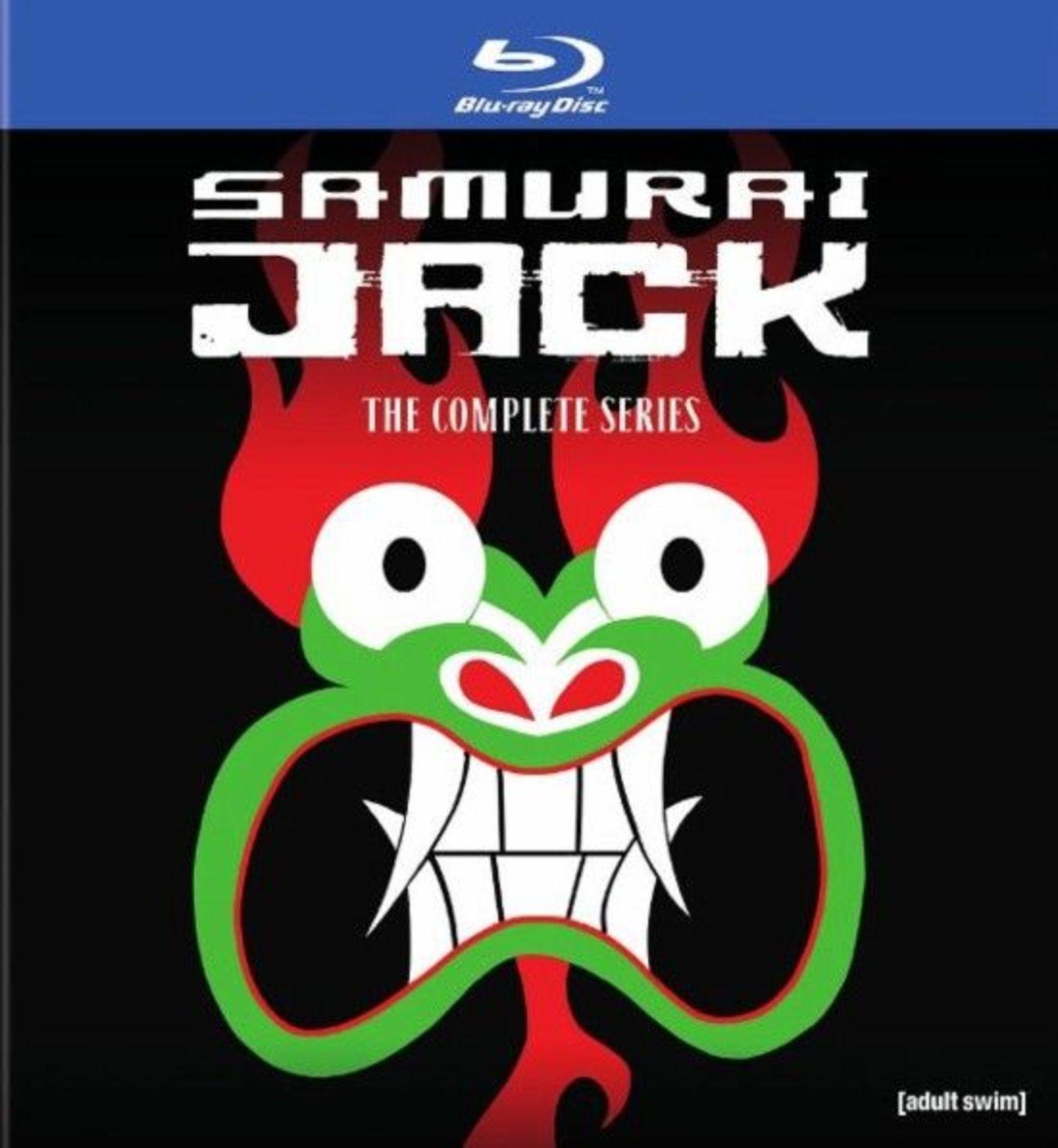 Samurai Jack Complete Series Bluray