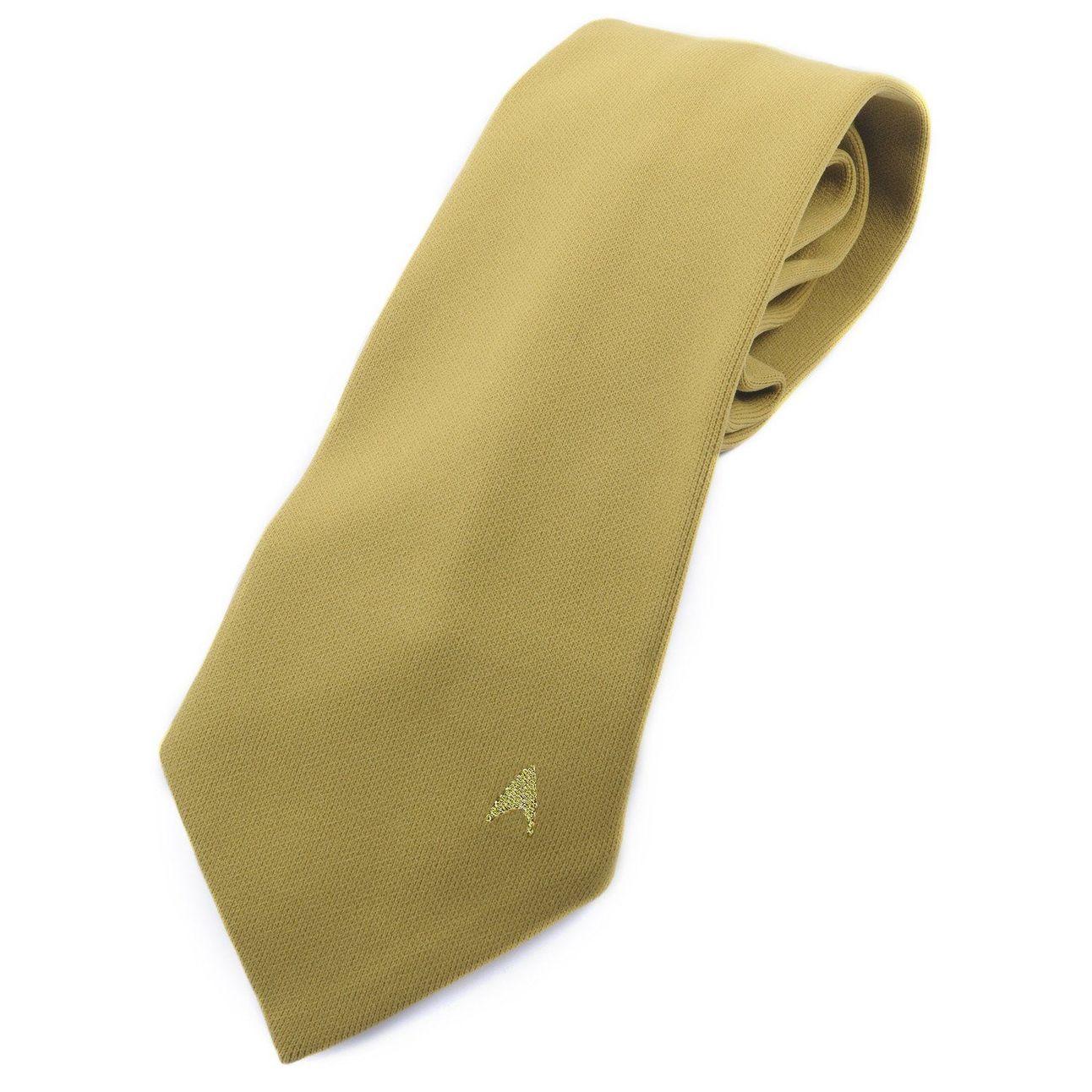 Star Trek The Original Series Men's Novelty Necktie in Command Gold