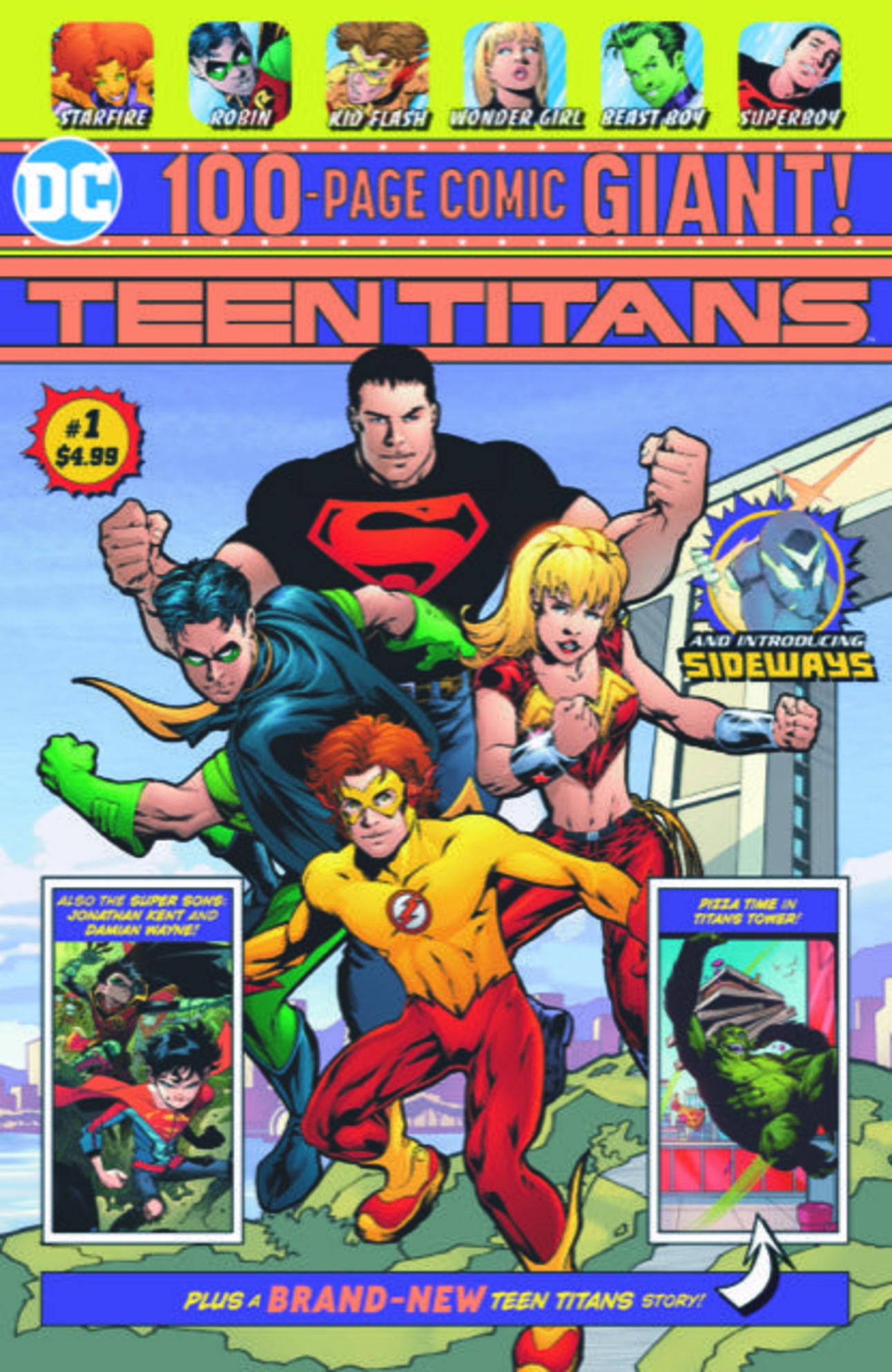 Teen Titans Giant 1