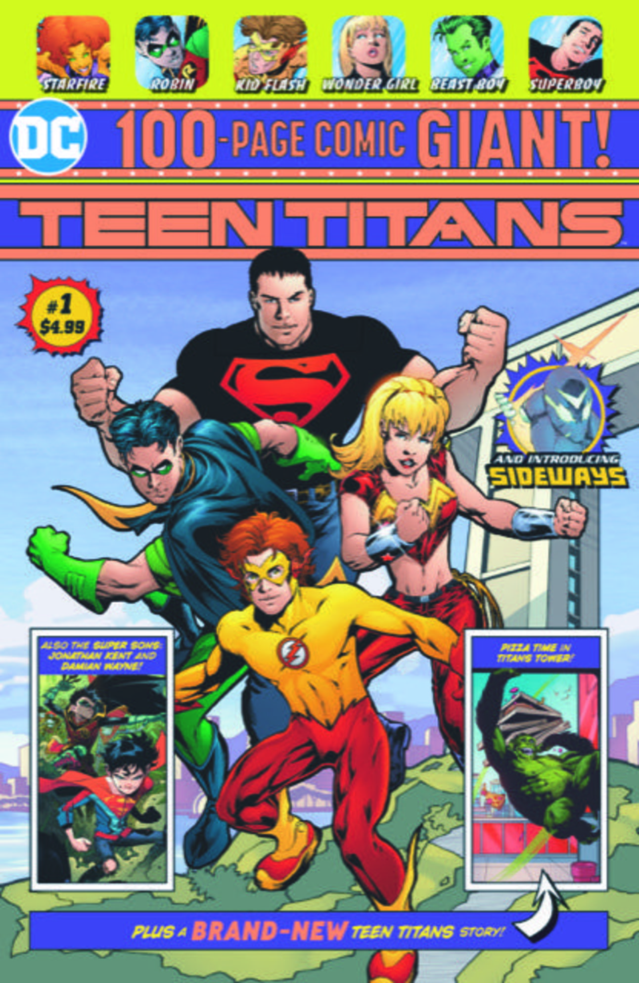 Teen Titans Giant 1