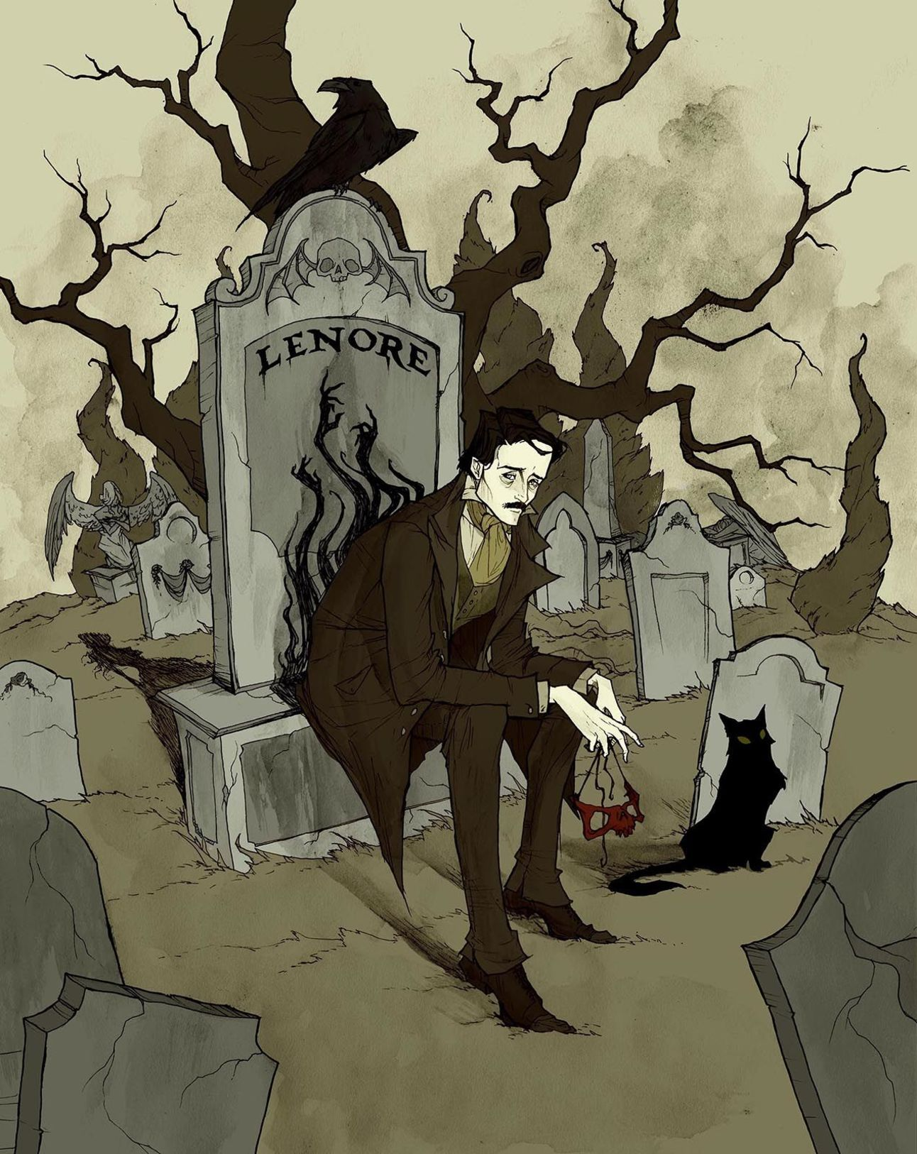 Edgar Allan Poe - Abigail Larson 2016