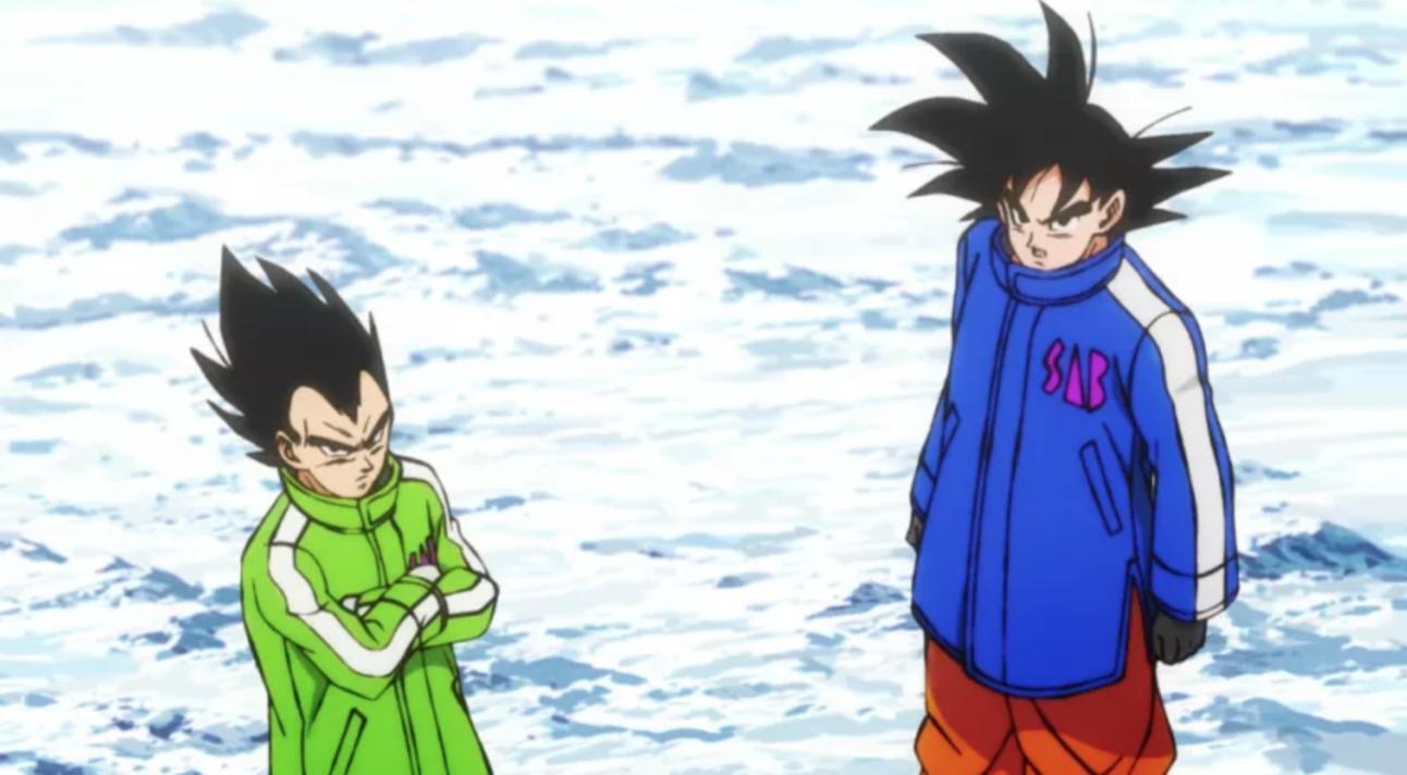 Dragon Ball Super - Goku and Vegeta Cold Weather