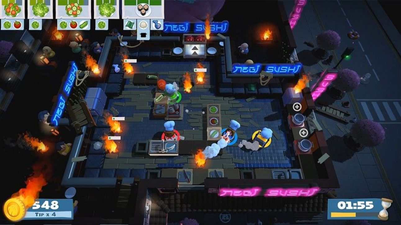 Overcooked 2 - Fires in the Kitchen