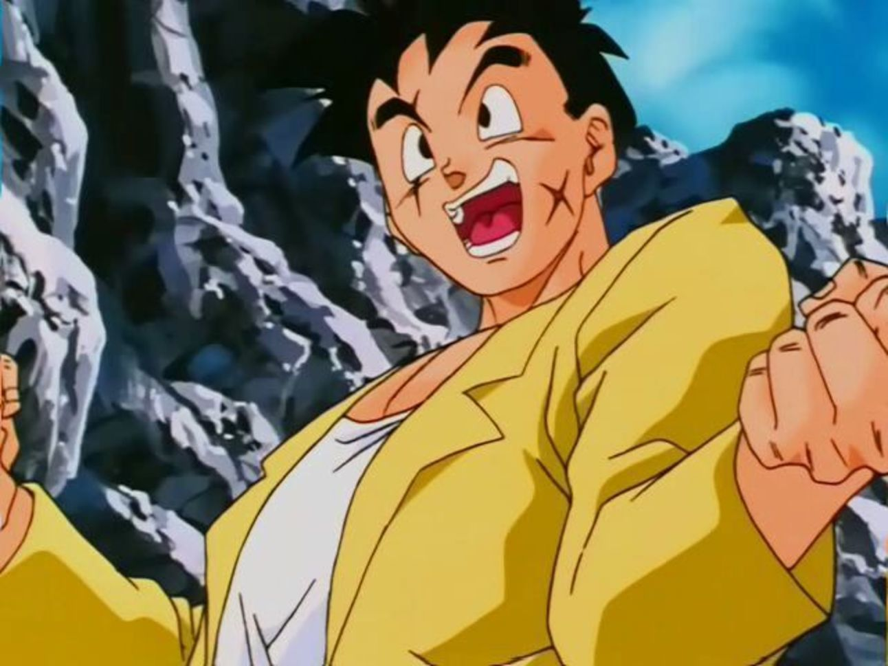 Dragon Ball Z- Yamcha's Yellow Suit