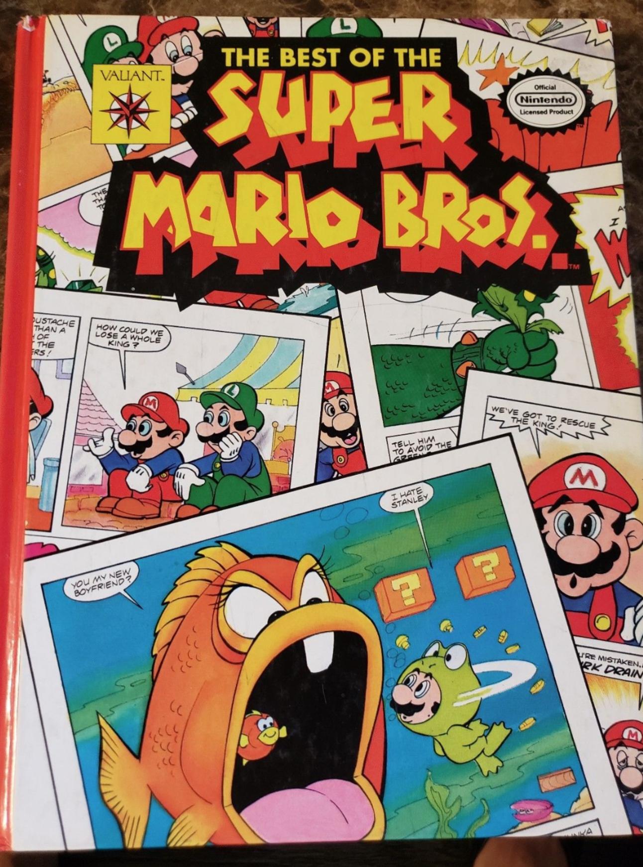 Mario Bros. comics