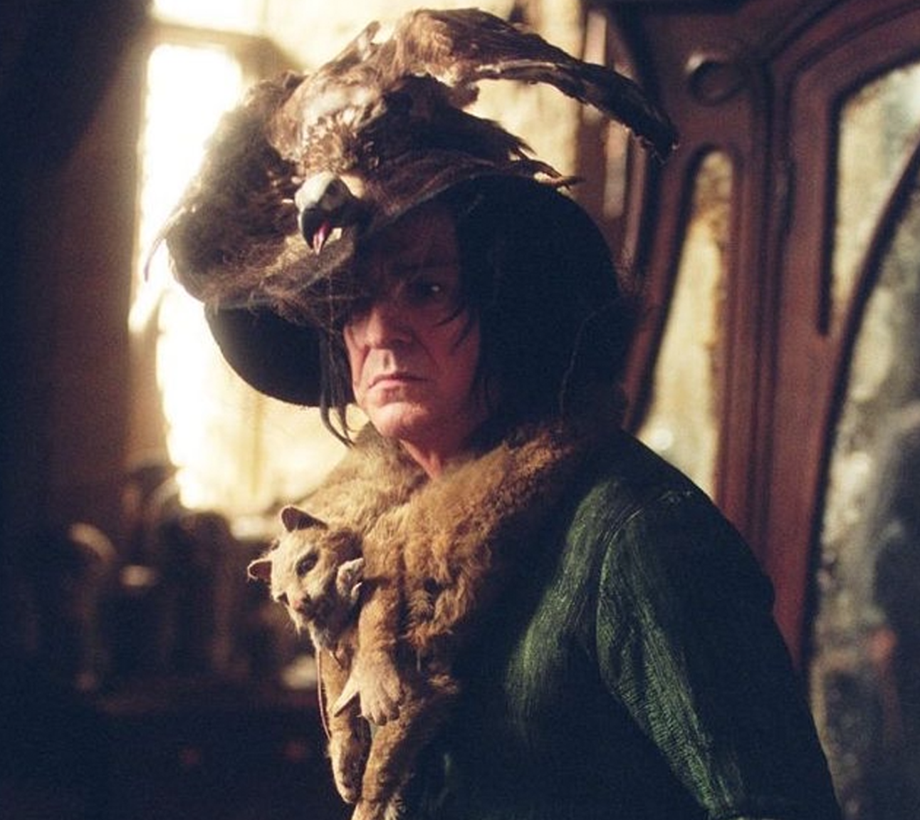 Snape boggart from Harry Potter