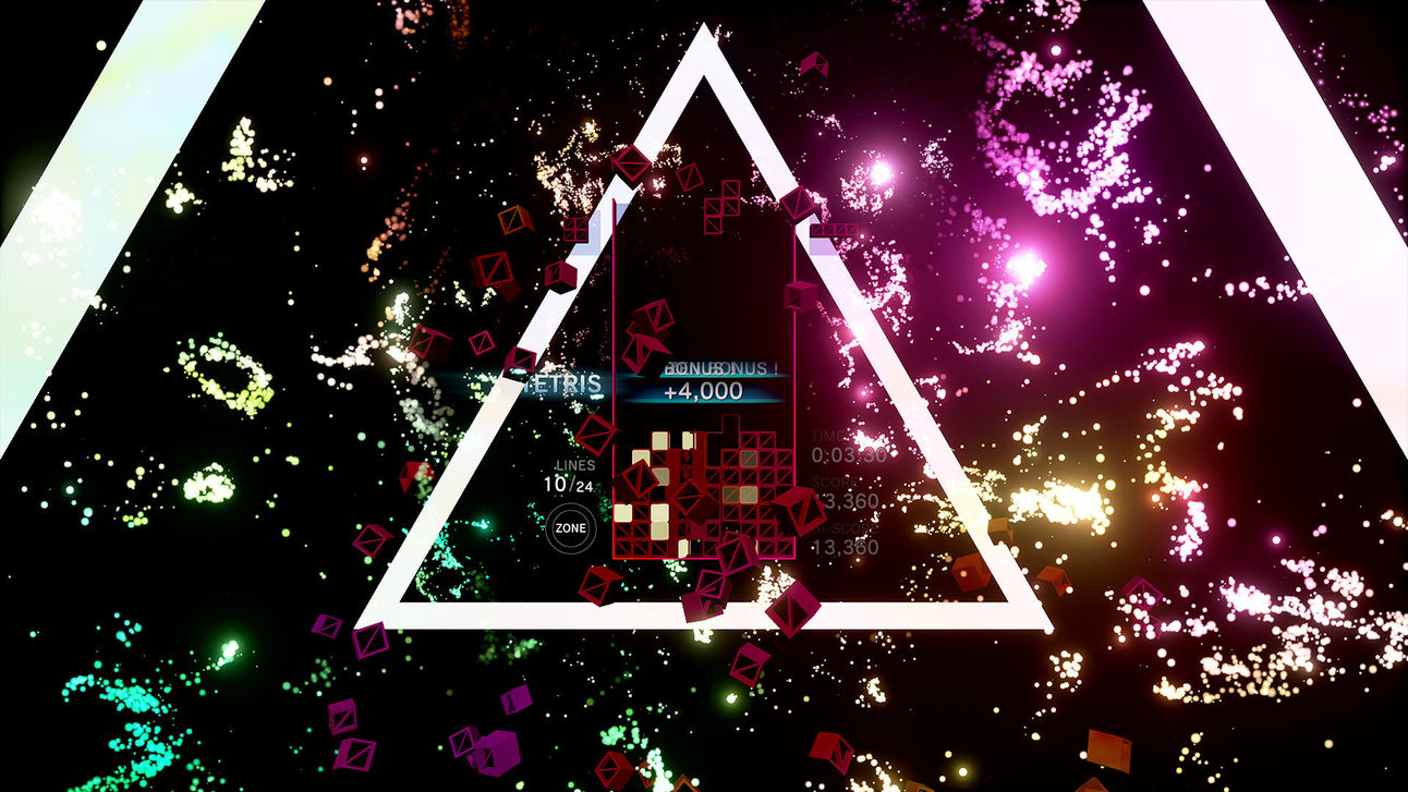 Tetris Effect - Trippy Triangle