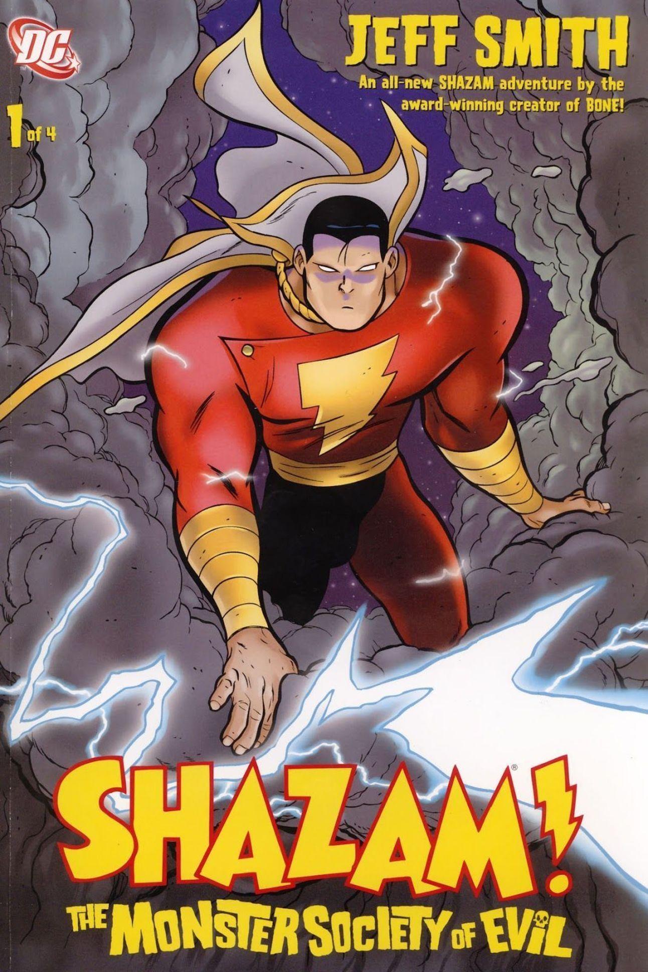 Shazam!: The Monster Society of Evil cover