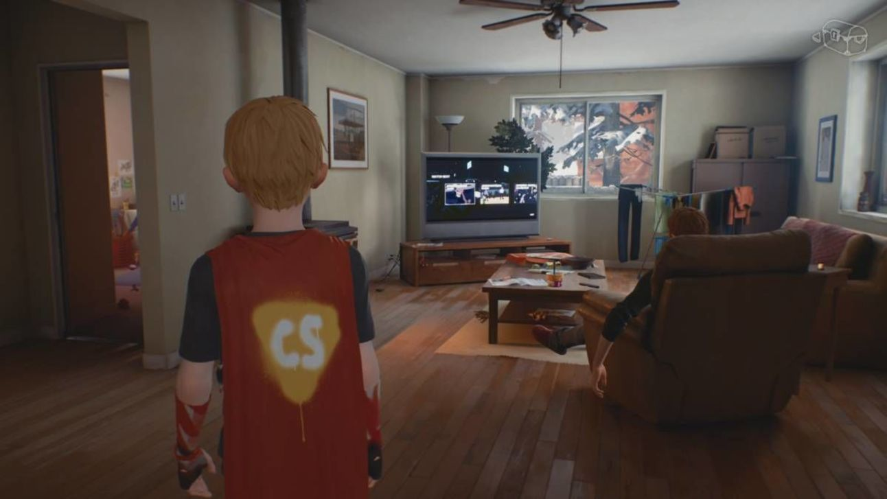 The Awesome Adventures of Captain Spirit - Chris's Room