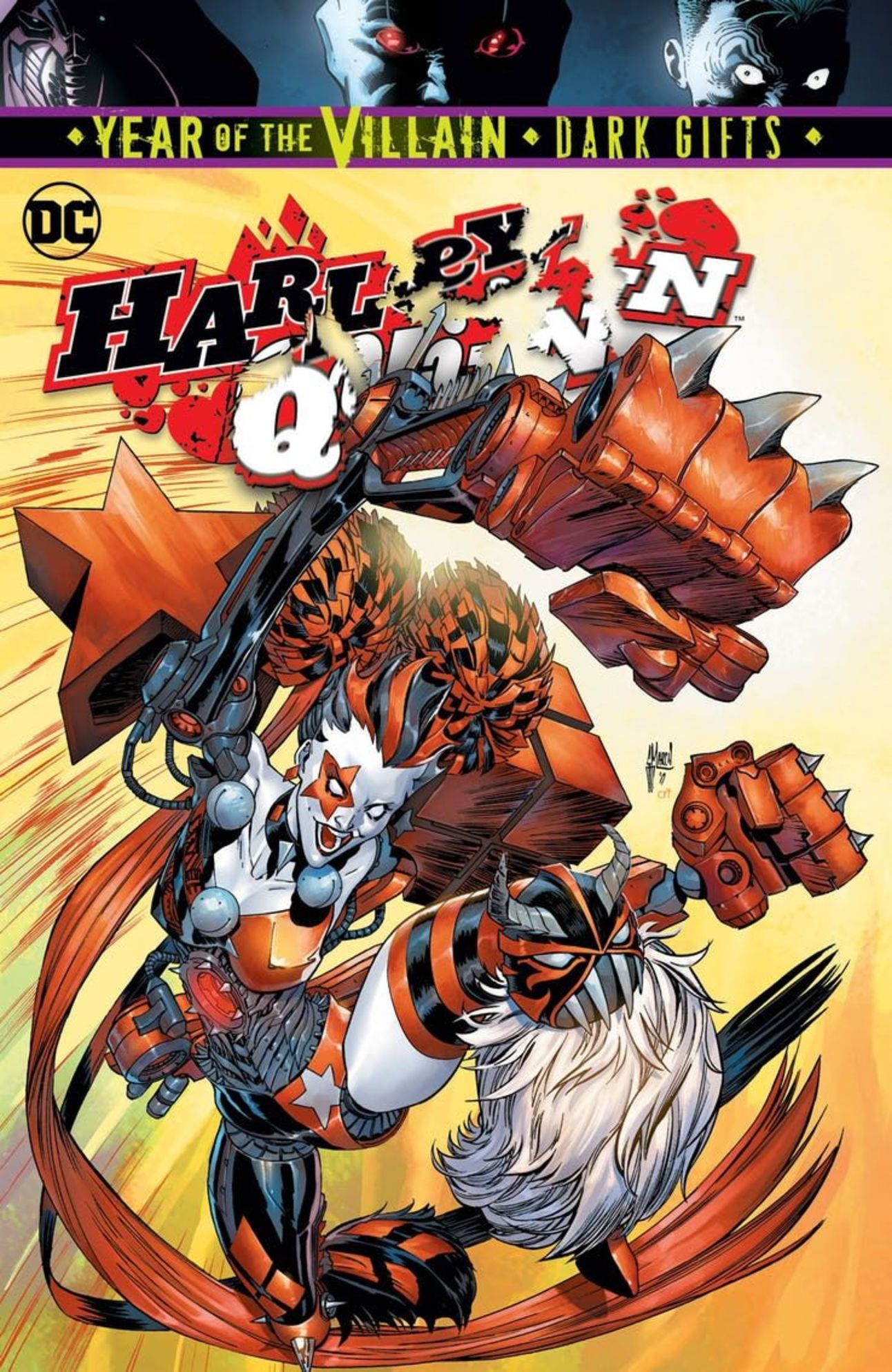 HARLEY QUINN #64 VARIANT SET FRANK CHO DARK GIFTS HUMPHRIES DC COMIC 8//7