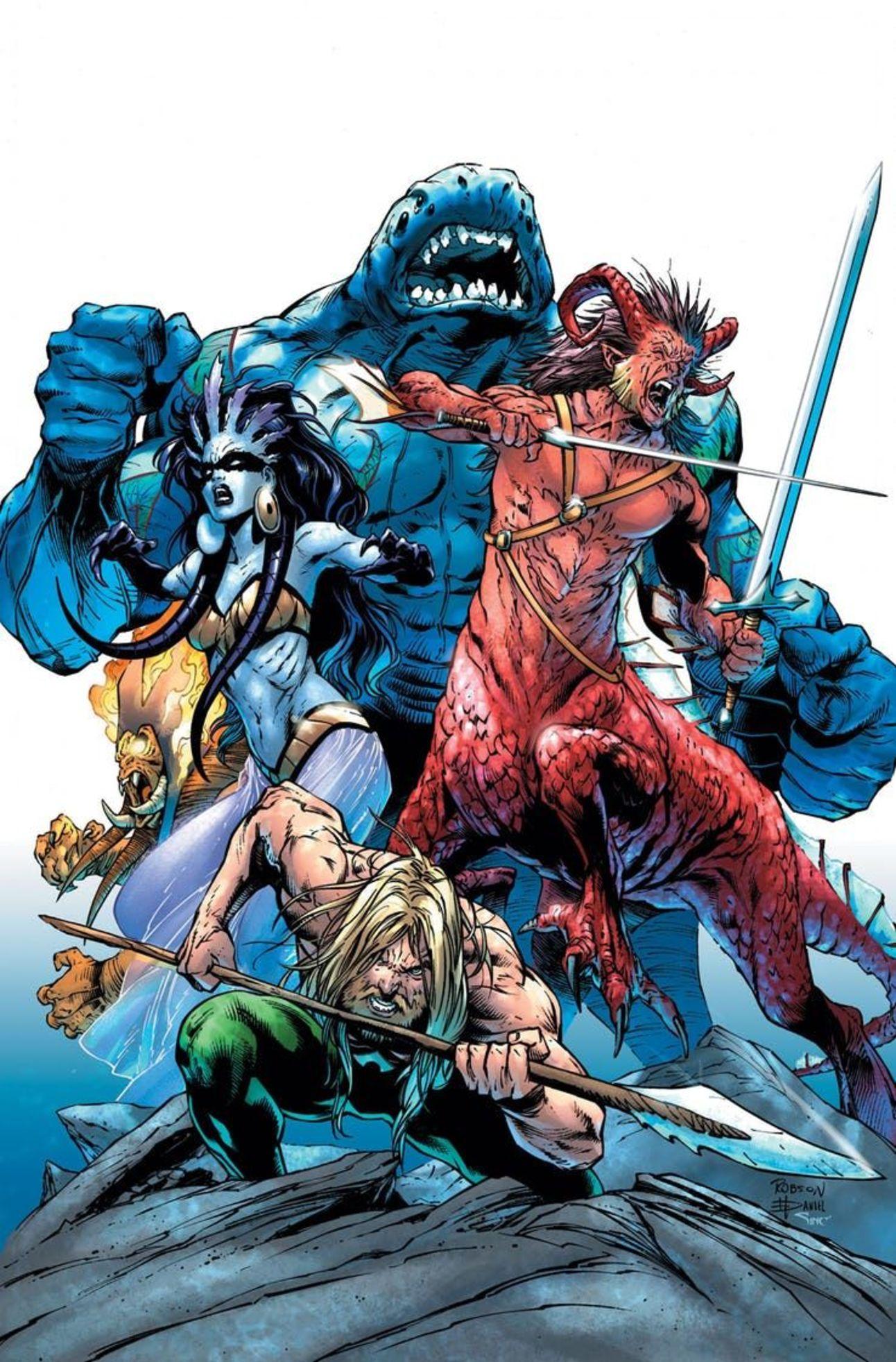 DC Comics April 9