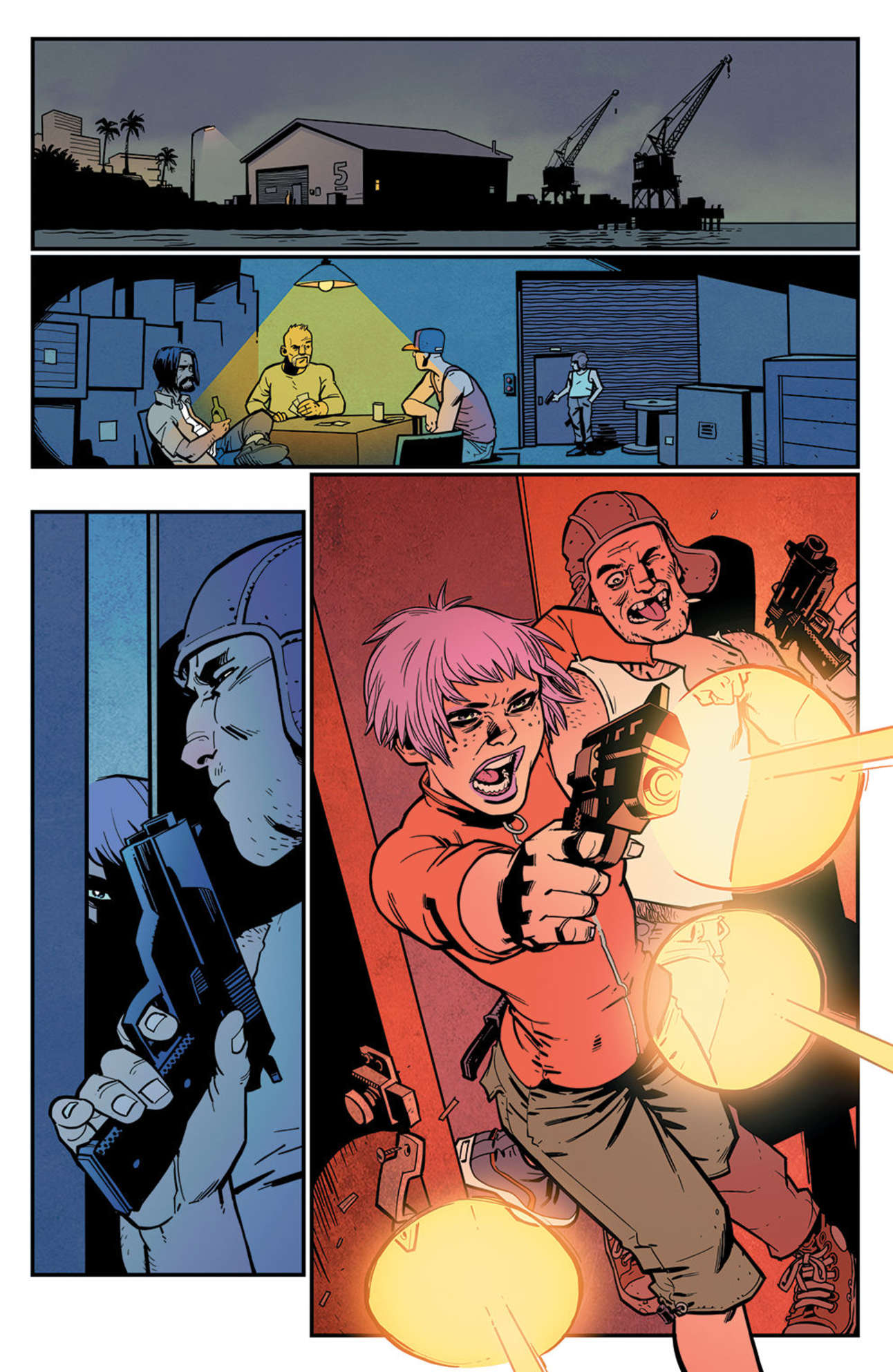 Eve Stranger #1 Page 14 Colored