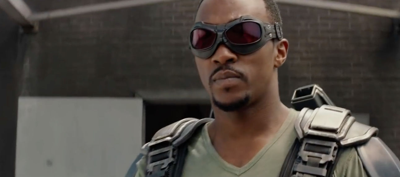 Captain America: The Winter Soldier- Anthony Mackie as Sam Wilson (Falcon)