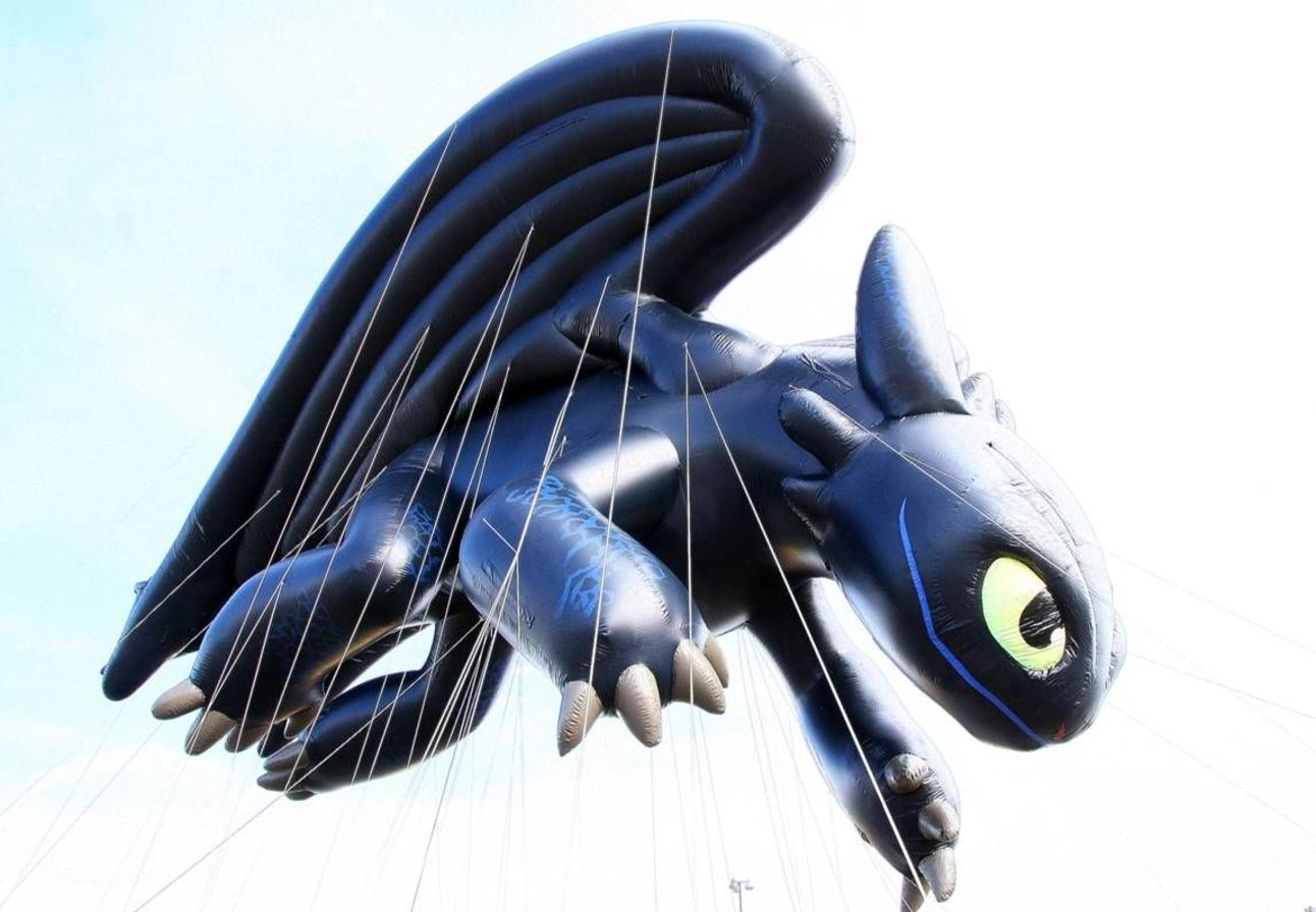 How to Train your Dragon Toothless Balloon