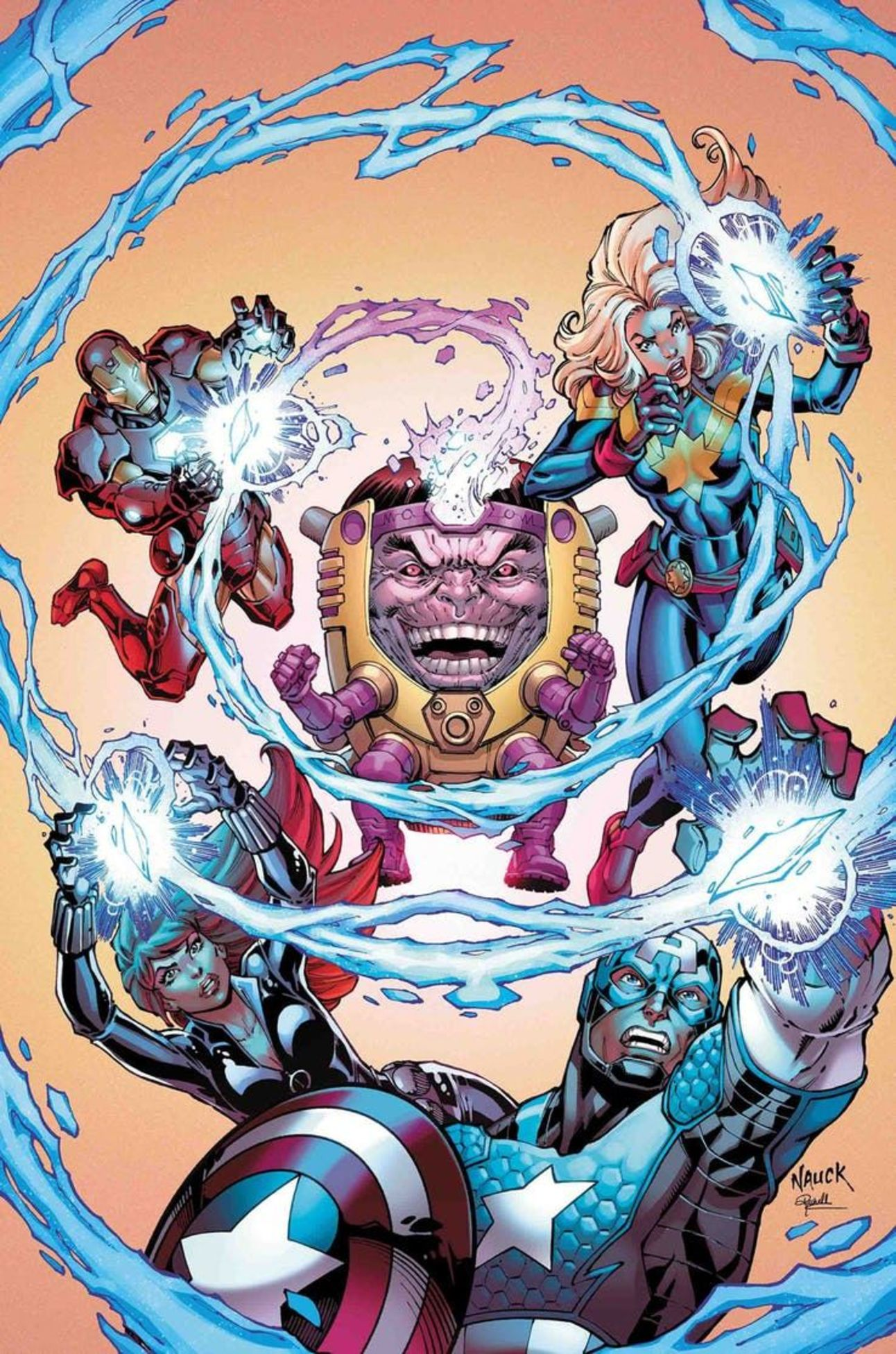 Marvel Comics single-issue solicitations for April 2019
