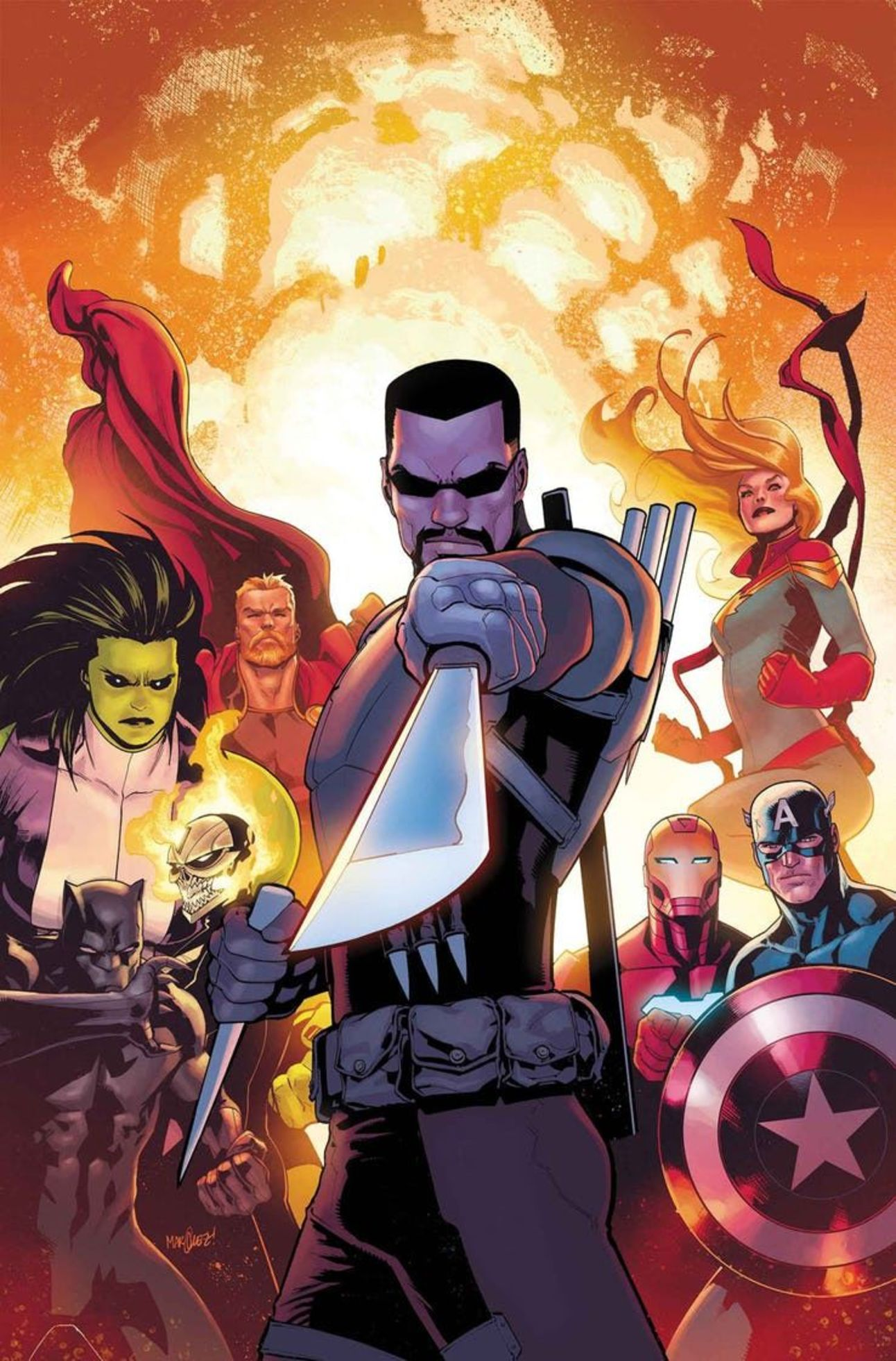 Marvel March 1