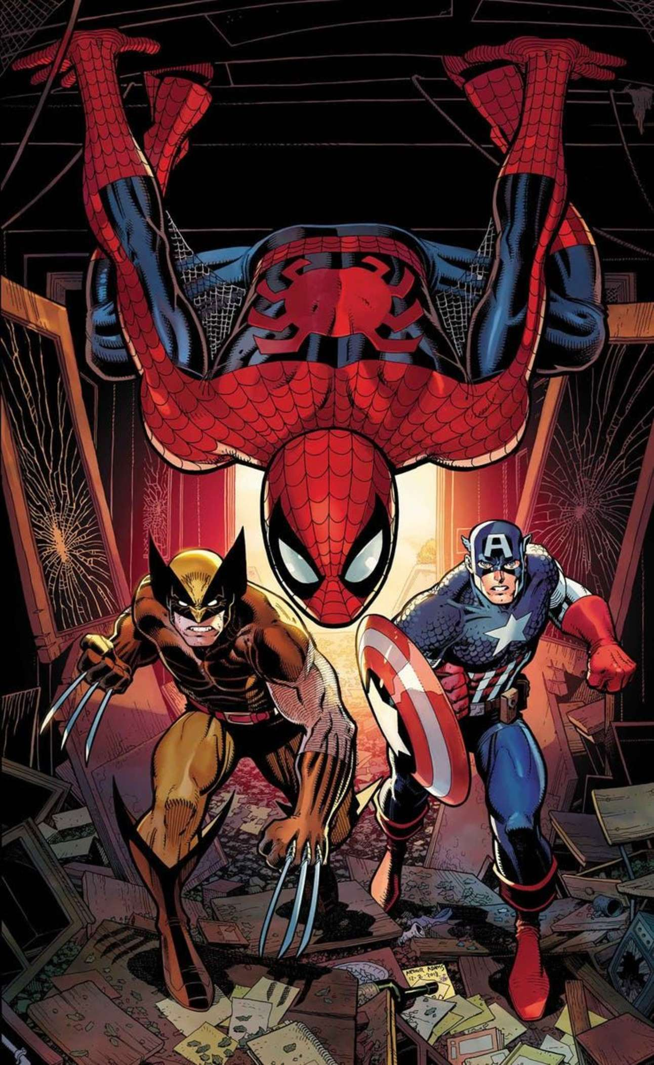Marvel March 45