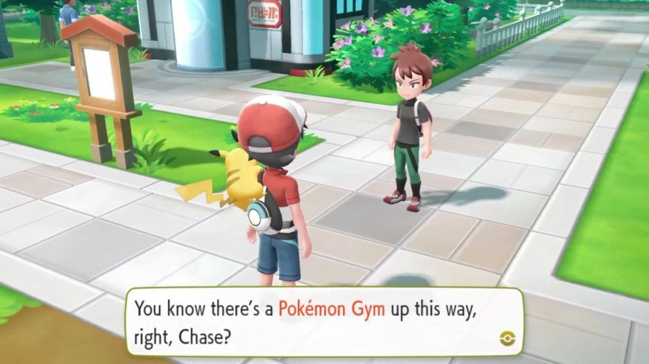 Pokemon - Let's Go Pikachu - Chase