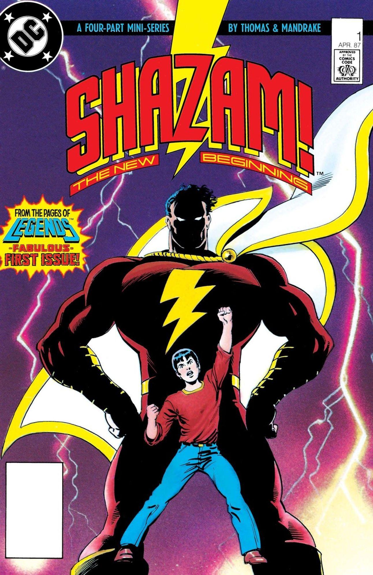 Shazam: The New Beginning (Writer: Roy and Dann Thomas, Art: Tom Mandrake)