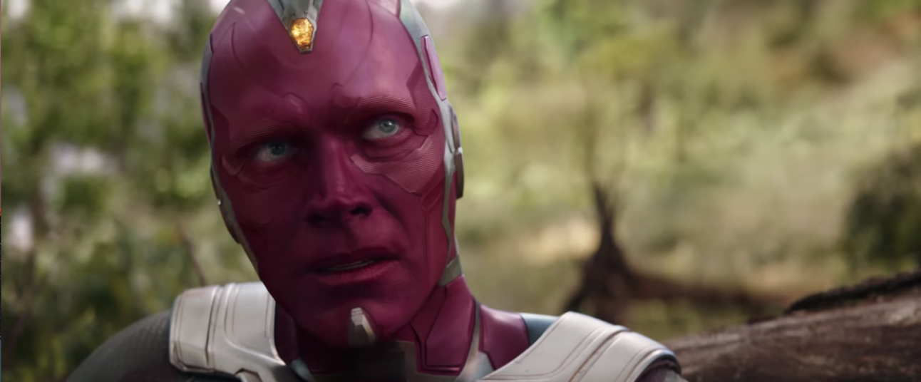 Infinity War, Vision