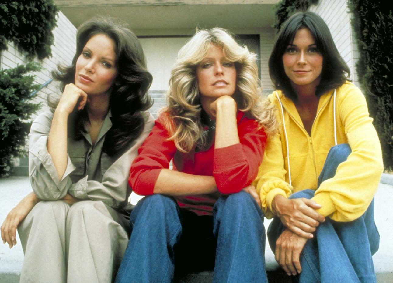 622cc2e08e Jill, Sabrina and Kelly (Farrah Fawcett, Kate Jackson, and Jaclyn Smith) -  Charlie's Angels (1976-1977)