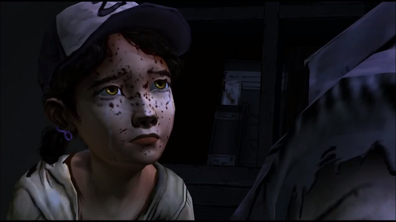 The Walking Dead - Clementine Crying