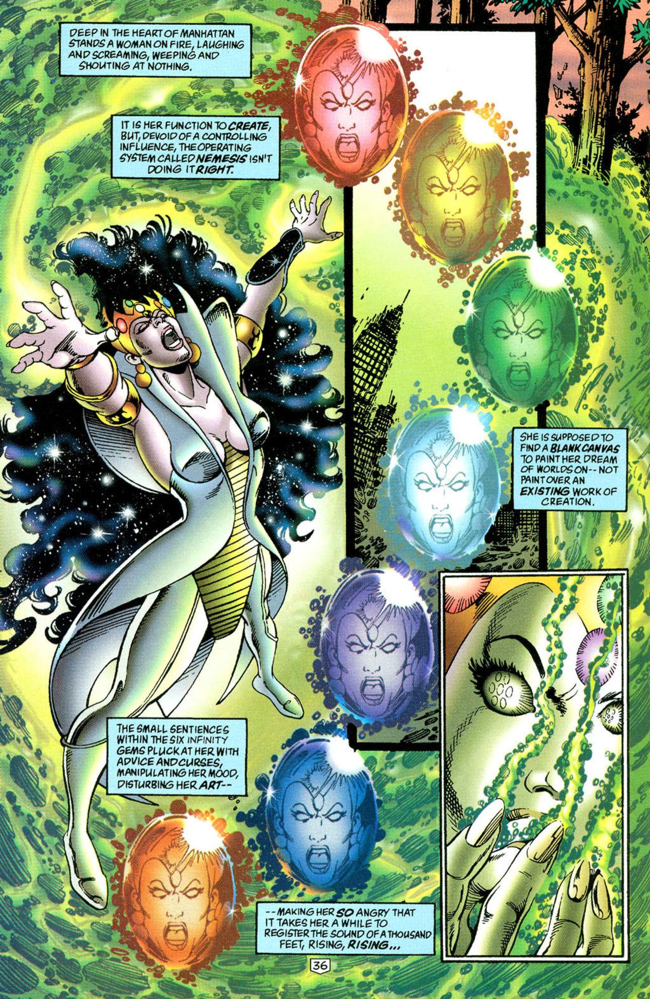 Nemesis, Ego Gem, Marvel