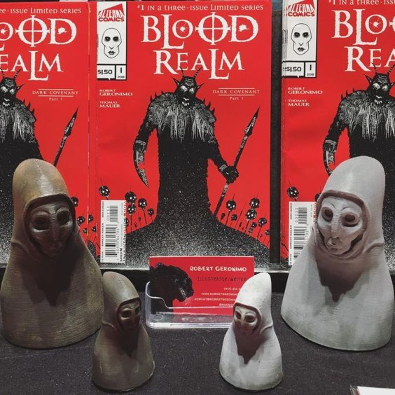 NYCC 2018 Blood Realm