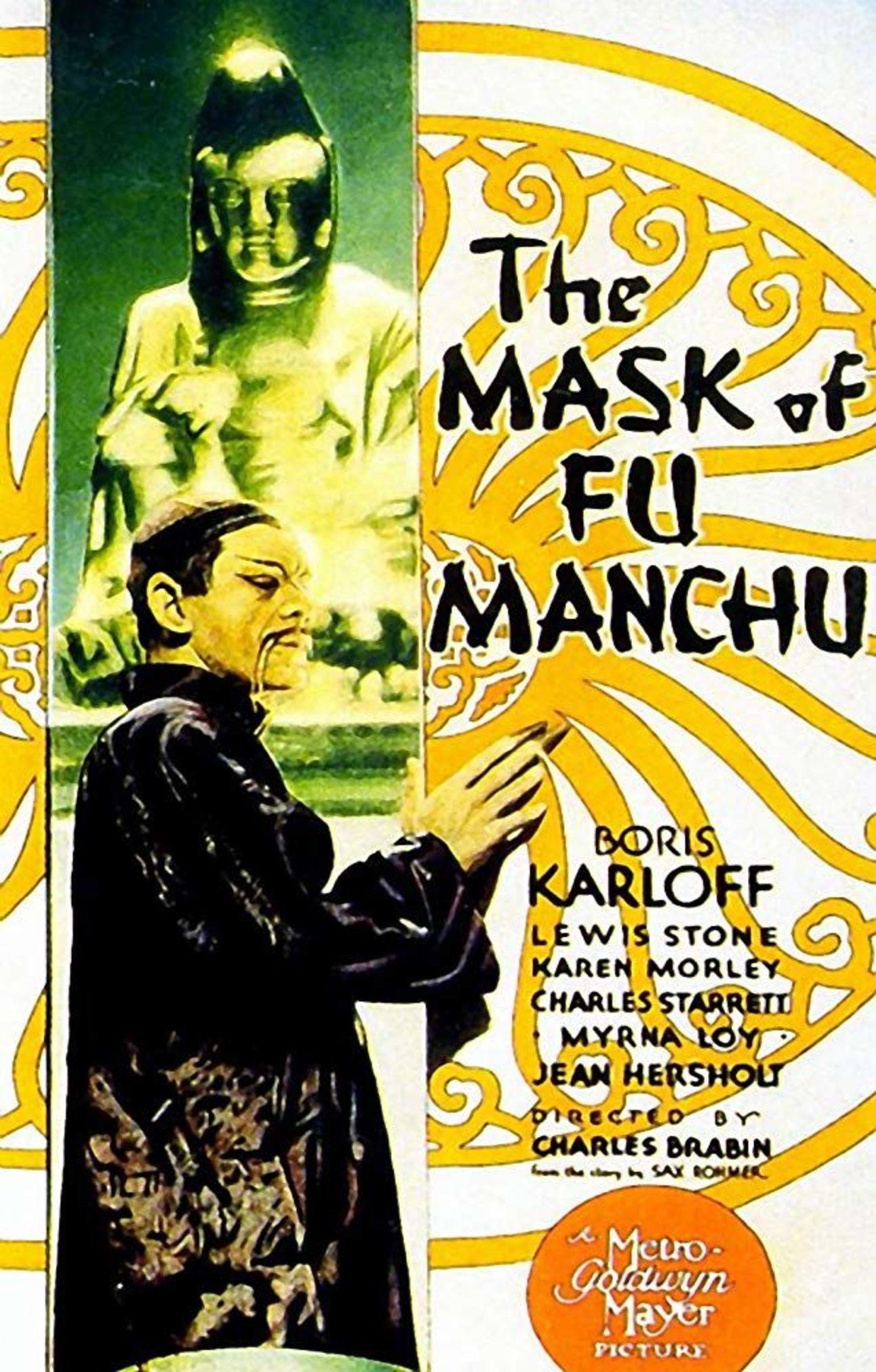 The Mask of Fu Manchu (1932) poster