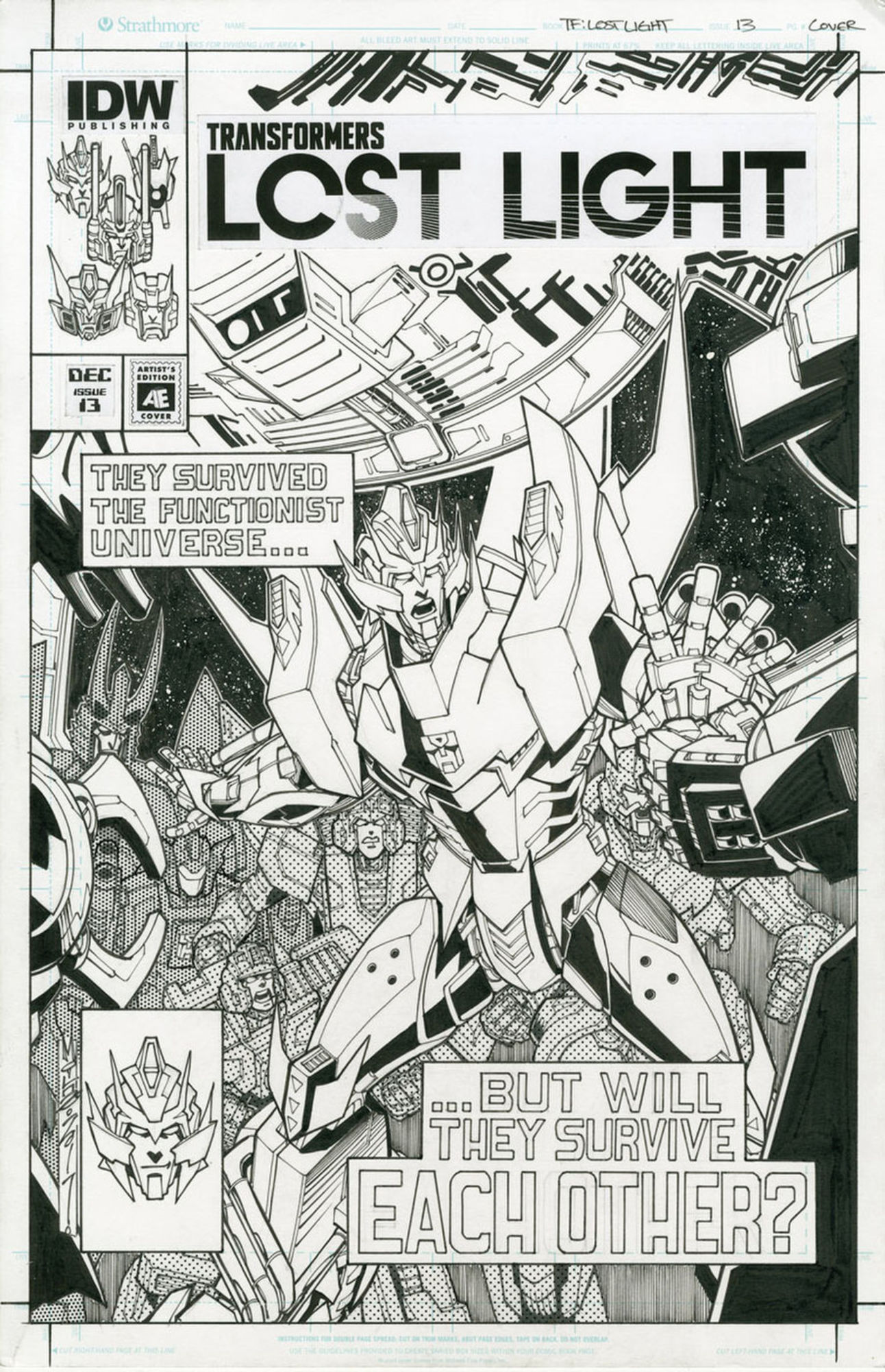 IDW Publishing solicitations: December 2017