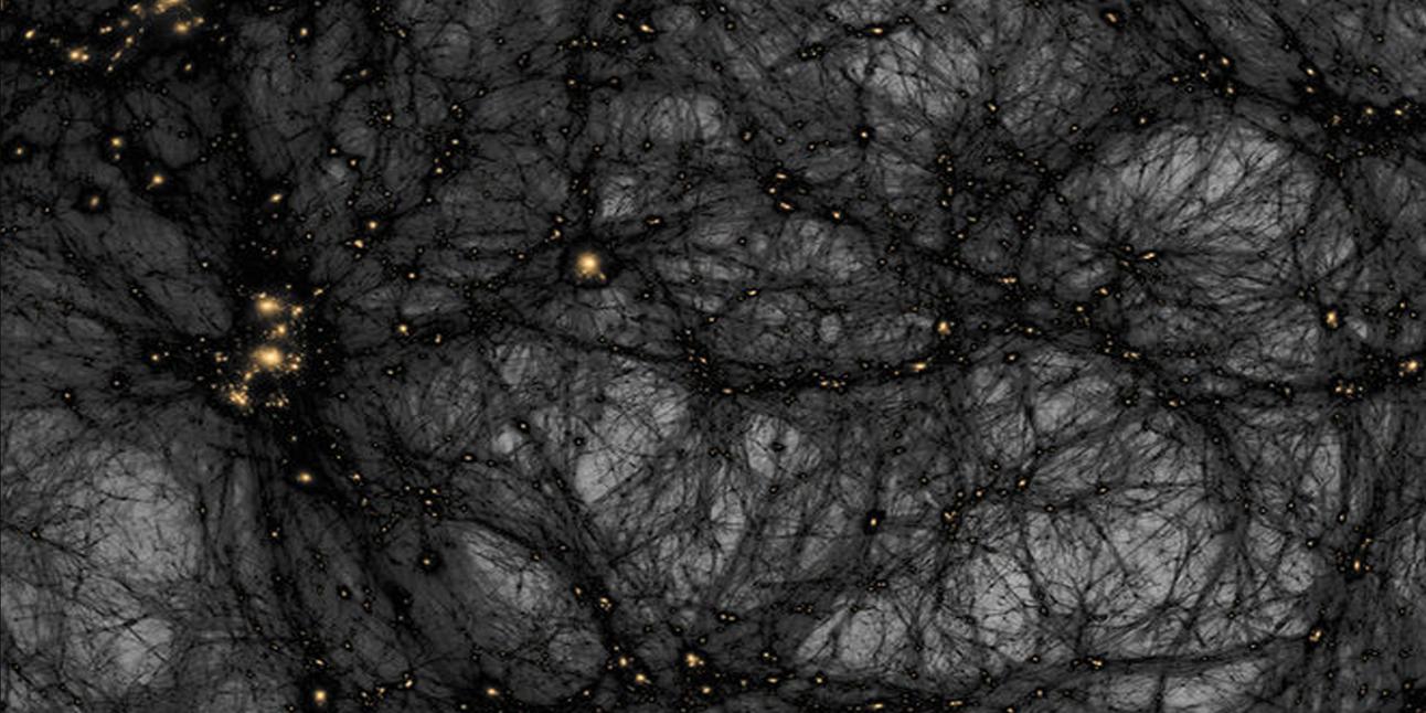 Simulation of dark matter with dark matter clumps