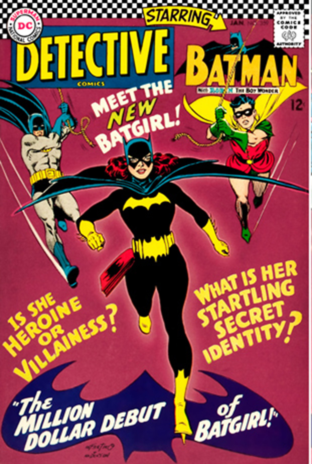 batgirl and robin start dating