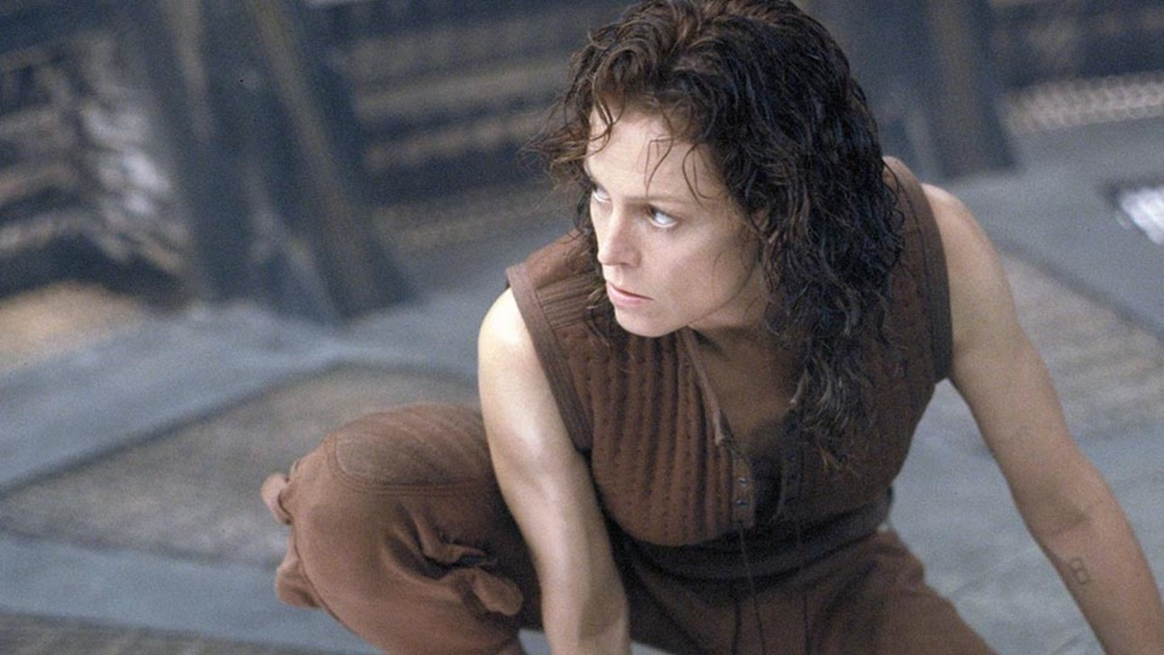 Talk Sigourney weaver alien hot confirm. was