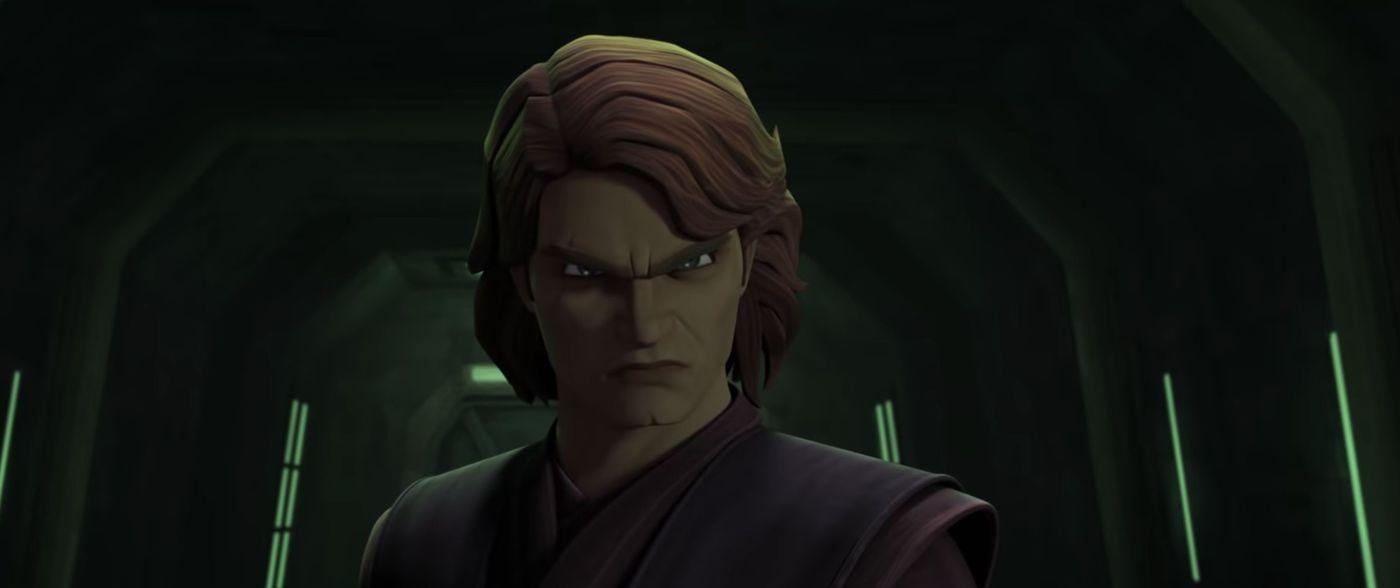 Star Wars The Clone Wars Trailer Ahsoka Fights Maul Anakin Goes Dark Side