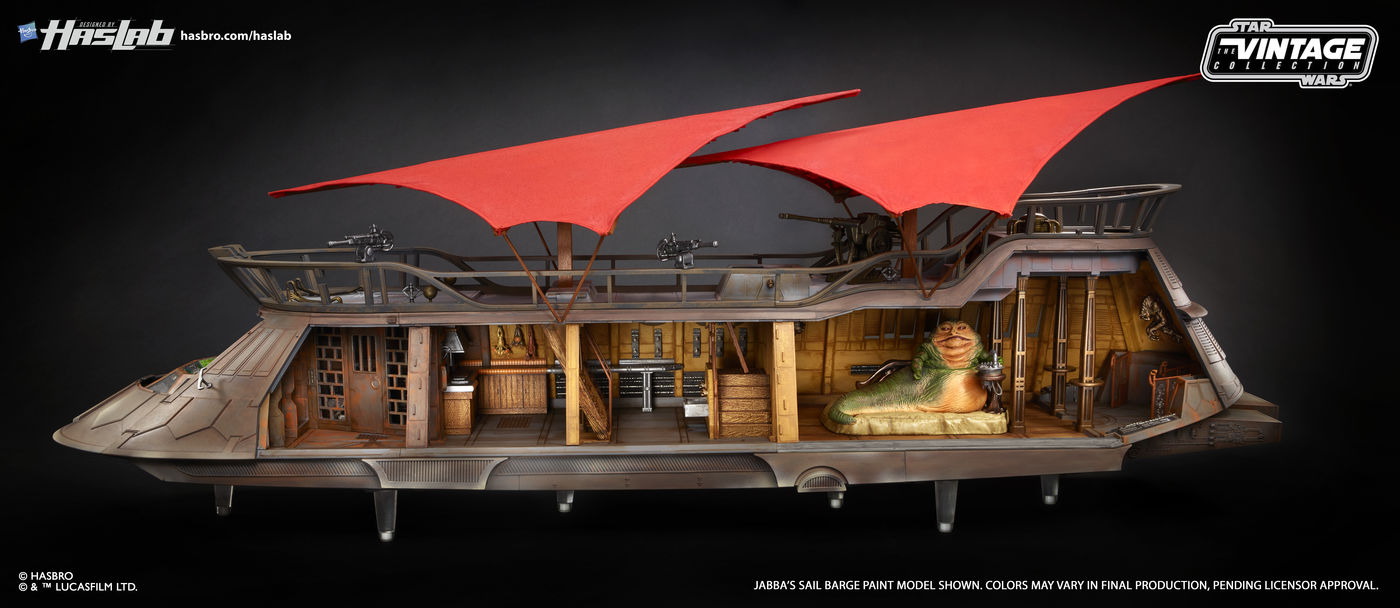 Recreate Return of the Jedi's Sarlacc battle with this