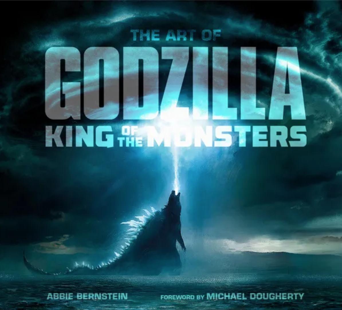 Godzilla: King of the Monsters concept art book sneak peek