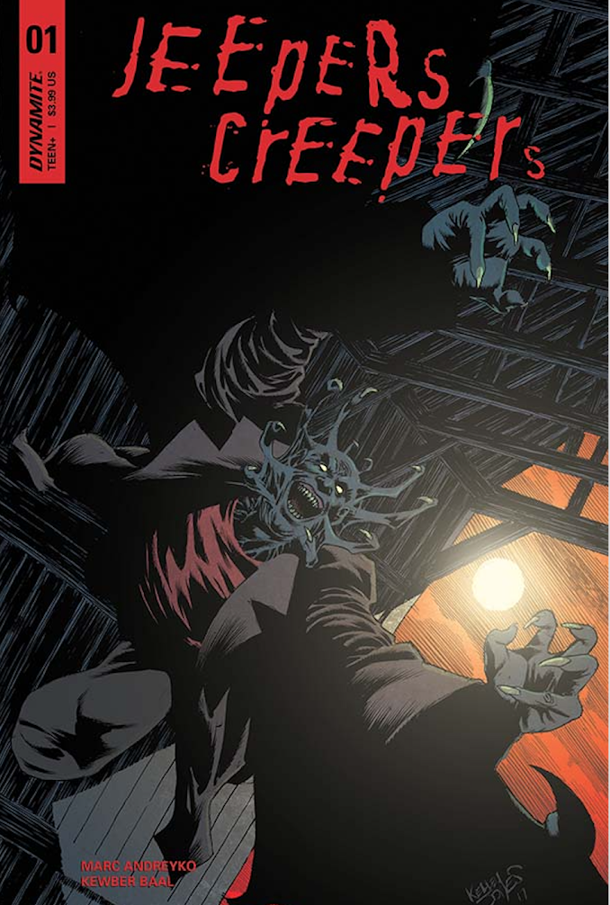 Exclusive: Creep into this 8-page preview for Dynamite's new