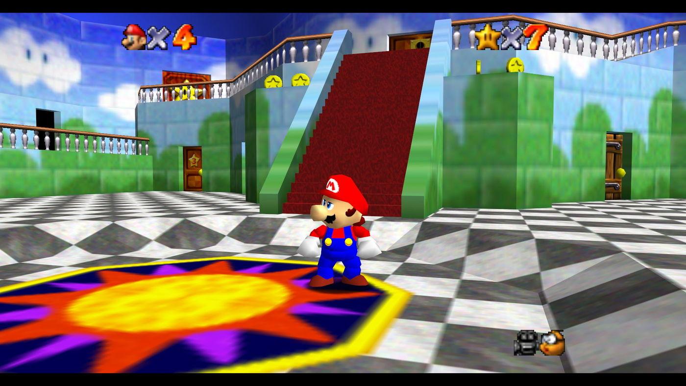 Super Mario 64's best world is actually Peach's Castle