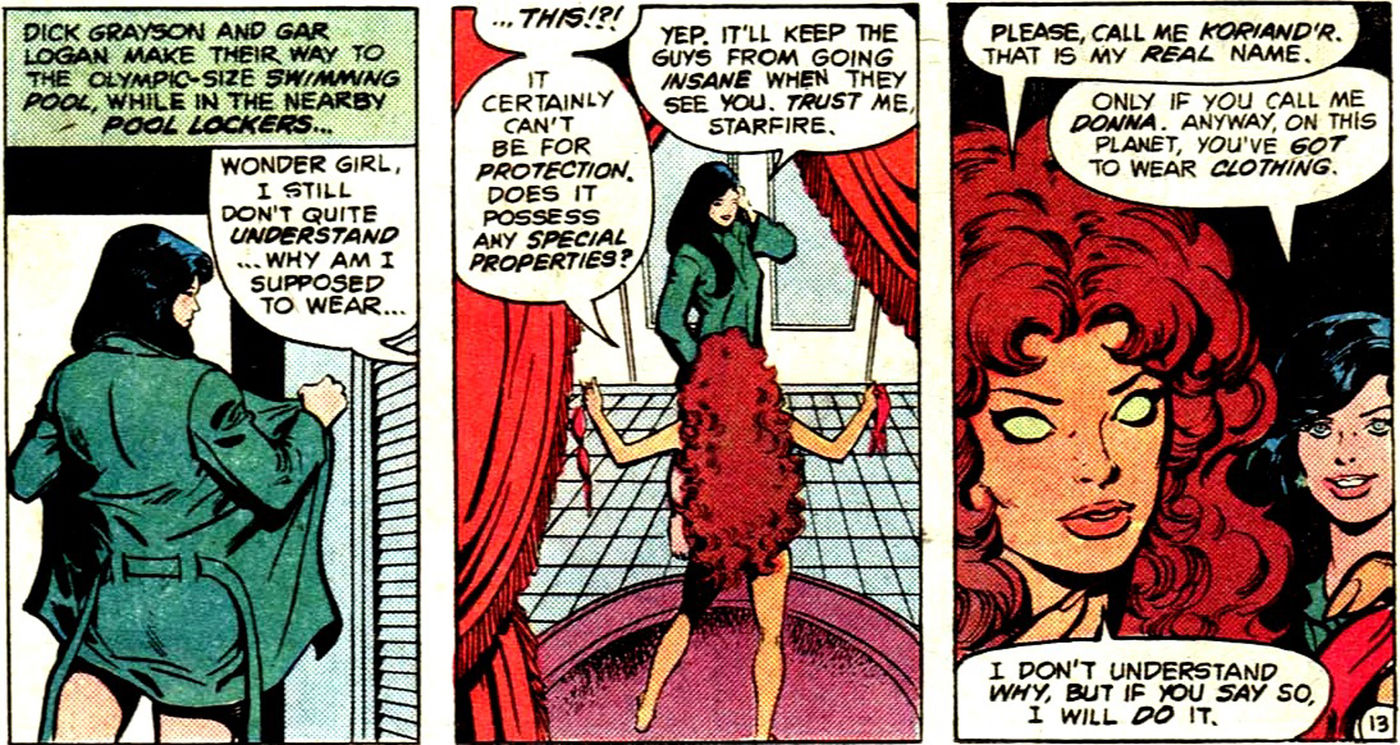 Why Starfire's polyamory matters | SYFY WIRE
