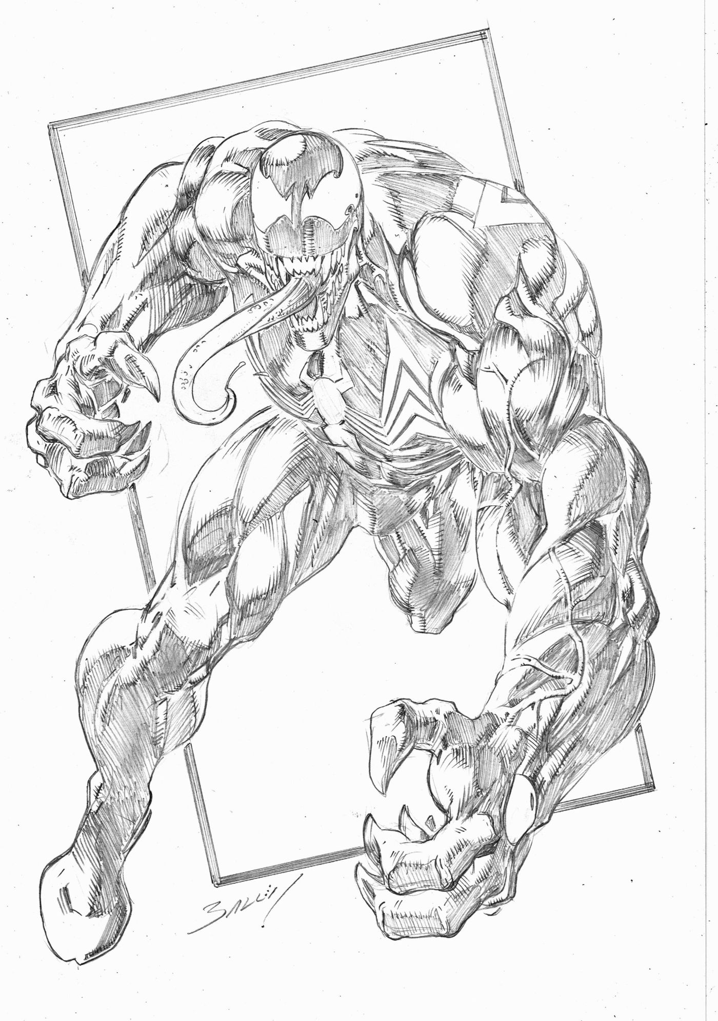 Free Printable Venom Coloring Pages For Kids | 1989x1400