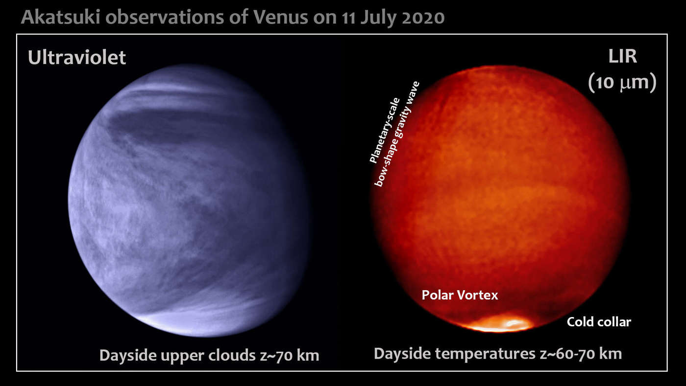 Parker Solar Probe, Akatsuki, and Earthly astronomers deliver rare top-to-surface view of Venus