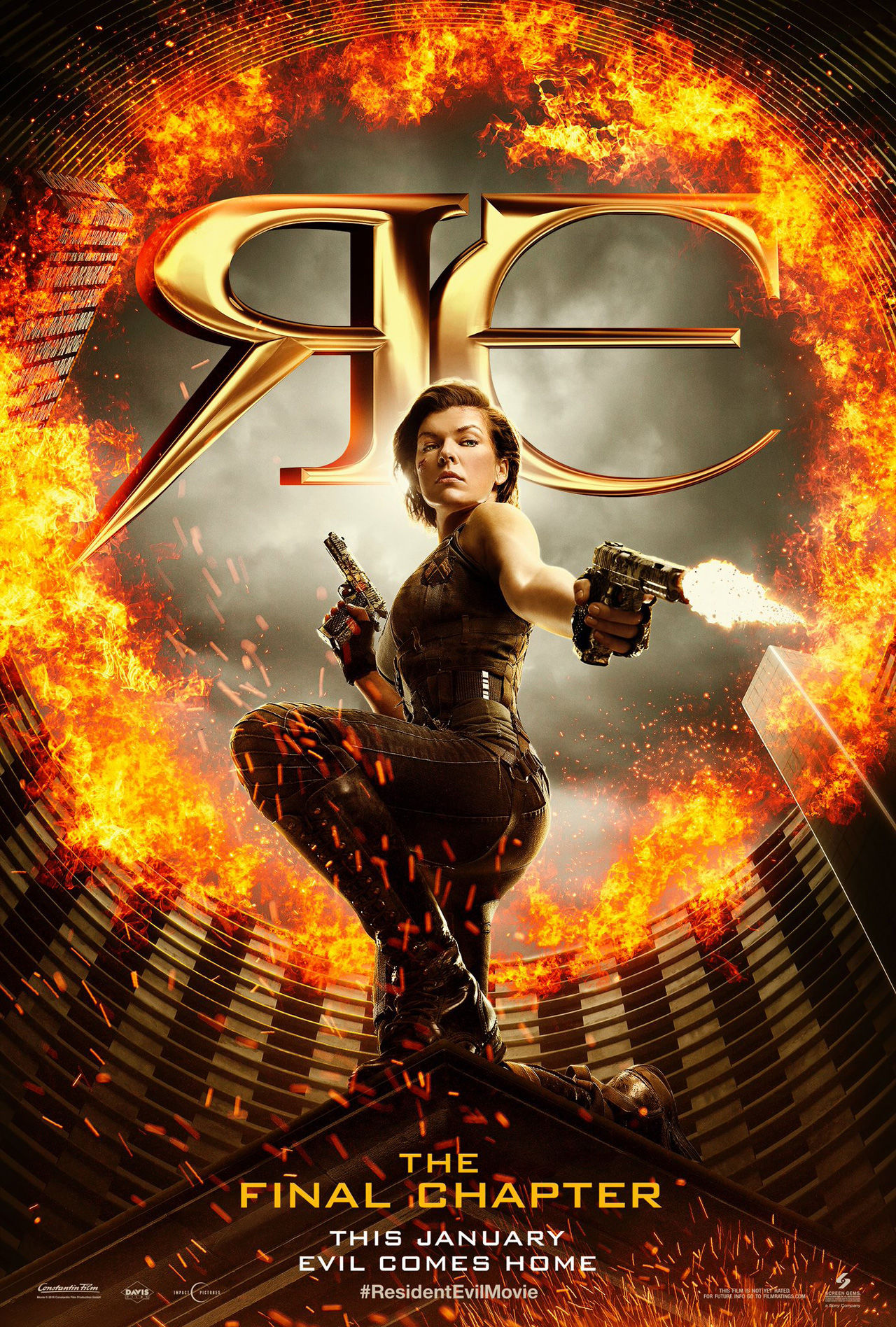 Resident Evil The Final Chapter Unleashes A First Explosive