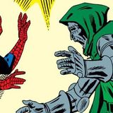 Steve Ditko Spider-Man Doctor Doom hero