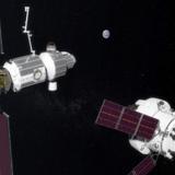 NASA image of the future Deep Space Gateway