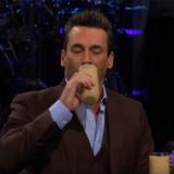 Jon Hamm Late Late Show