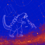 NASA Fermi Constellation GODZILLA